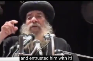 Pope Shenouda: against the heresies!